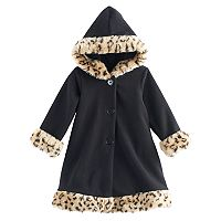 Toddler Girls Sophie Rose Microfleece Coat