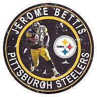 Pittsburgh Steelers Jerome Bettis Wall Decor