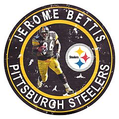 Pittsburgh Steelers Jerome Bettis Wall Decor