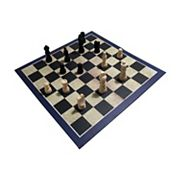 3-in-1 Chess, Draughts/Checkers & Backgammon Game Set by House of Marbles