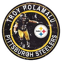 Pittsburgh Steelers Troy Polamalu Wall Decor