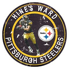 Pittsburgh Steelers Hines Ward Wall Decor