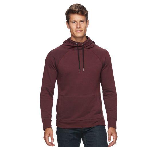 Men's Rock & Republic Textured Cross-Over Hoodie