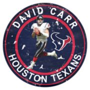 Houston Texans David Carr Wall Decor