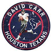 Houston Texans David Carr Wall Decor