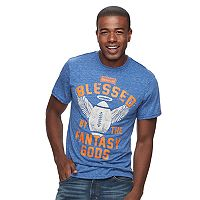 Men's Fantasy LIfe Blessed By The Fantasy Gods Tee