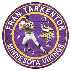 Minnesota Vikings Fran Tarkenton Wall Decor