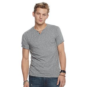 Men's Rock & Republic Textured Notchneck Tee
