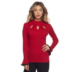 Juniors Red Sweaters - Tops, Clothing | Kohl's