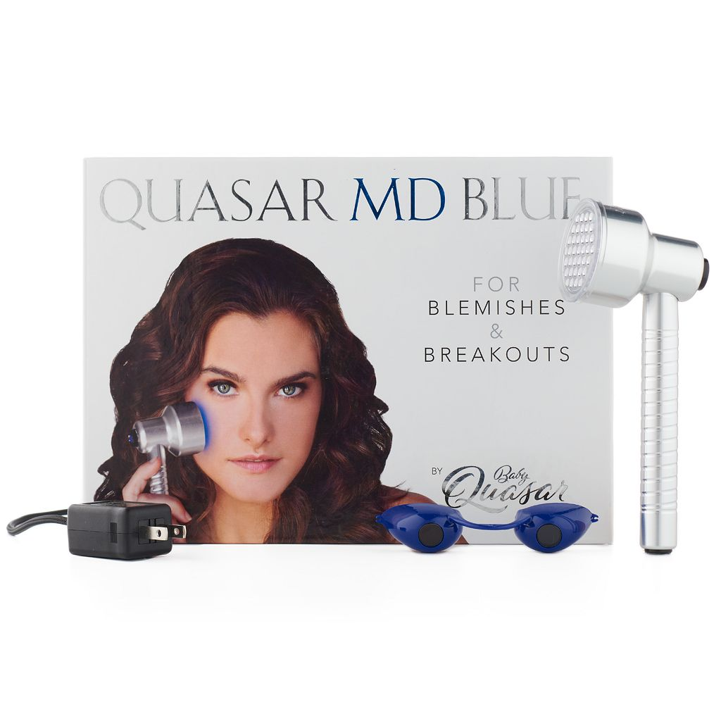 Quasar MD Blue Acne Light Therapy Device
