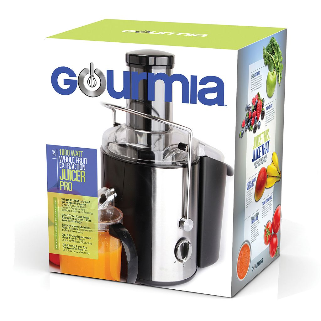 Gourmia Stainless Steel Juice Extractor & Maker