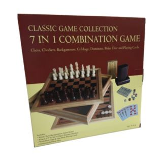 7 in 1 Combination Game Set by John N. Hansen Co.
