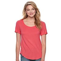 Juniors' SO® Open Back Tee