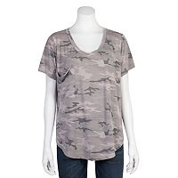 Juniors' Grayson Threads Relaxed Burnout Tee