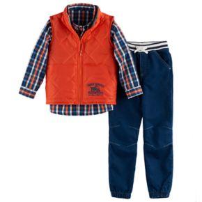 Boys 4-7 Nannette 3-pc. Vest, Shirt & Jeans Set
