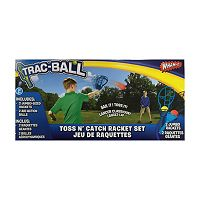 Trac-Ball Toss N' Catch Racket Set by Wham-O