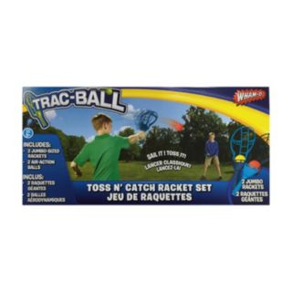 Trac-Ball Toss N' Catch Racket Set by Wham-O