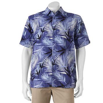 Men's Havanera Classic-Fit Palm Frond Button-Down Shirt