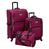 Leisure Getaway II 3 pc Spinner Luggage Set