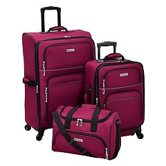 Leisure Getaway II 3-Piece Spinner Luggage Set