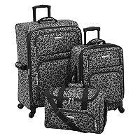 Leisure Getaway II 3-Piece Spinner Luggage Set (Multiple Colors) + $10 Kohls Cash