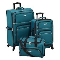 Leisure Getaway II 3 pc Spinner Luggage Set