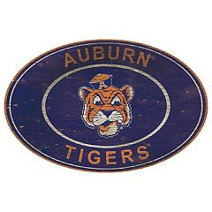Auburn Tigers Heritage Oval Wall Sign