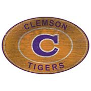 Clemson Tigers Heritage Oval Wall Sign
