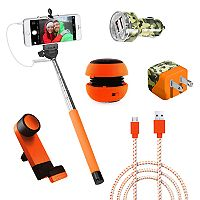 Gems Hunters Pack Speaker & Monopod Accessory Bundle