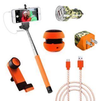 Gems Hunters Pack Speaker & Monopod Accessory Bundle