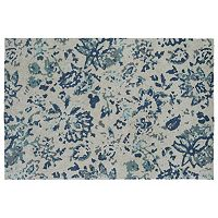 Kaleen Cozy Toes Escape Floral Rug