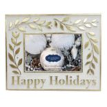 "St. Nicholas Square® ""Happy Holidays"" 4"" x 6"" Christmas Frame"