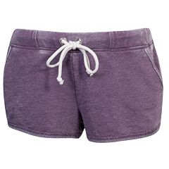 Juniors' Grayson Threads Drawstring French Terry Shorts