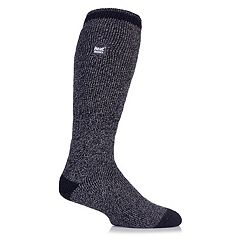Men's Heat Holders Twist Thermal Performance Over-The-Calf Socks