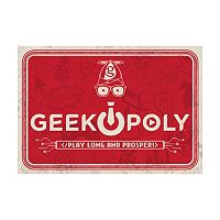 Geek-opoly Board Game by Late For The Sky