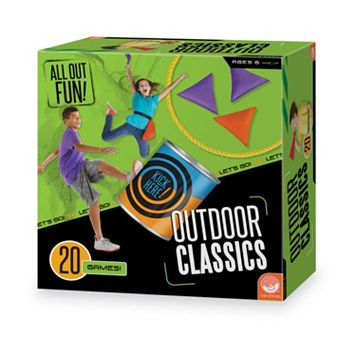 All Out Fun! Outdoor Classics 20-Game Set by MindWare