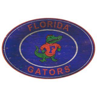 Florida Gators Heritage Oval Wall Sign
