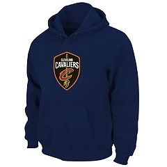 Big & Tall Majestic Cleveland Cavaliers Pullover Hoodie