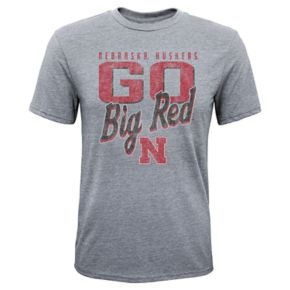 Boys 8-20 Nebraska Cornhuskers Rally Anthem Tee