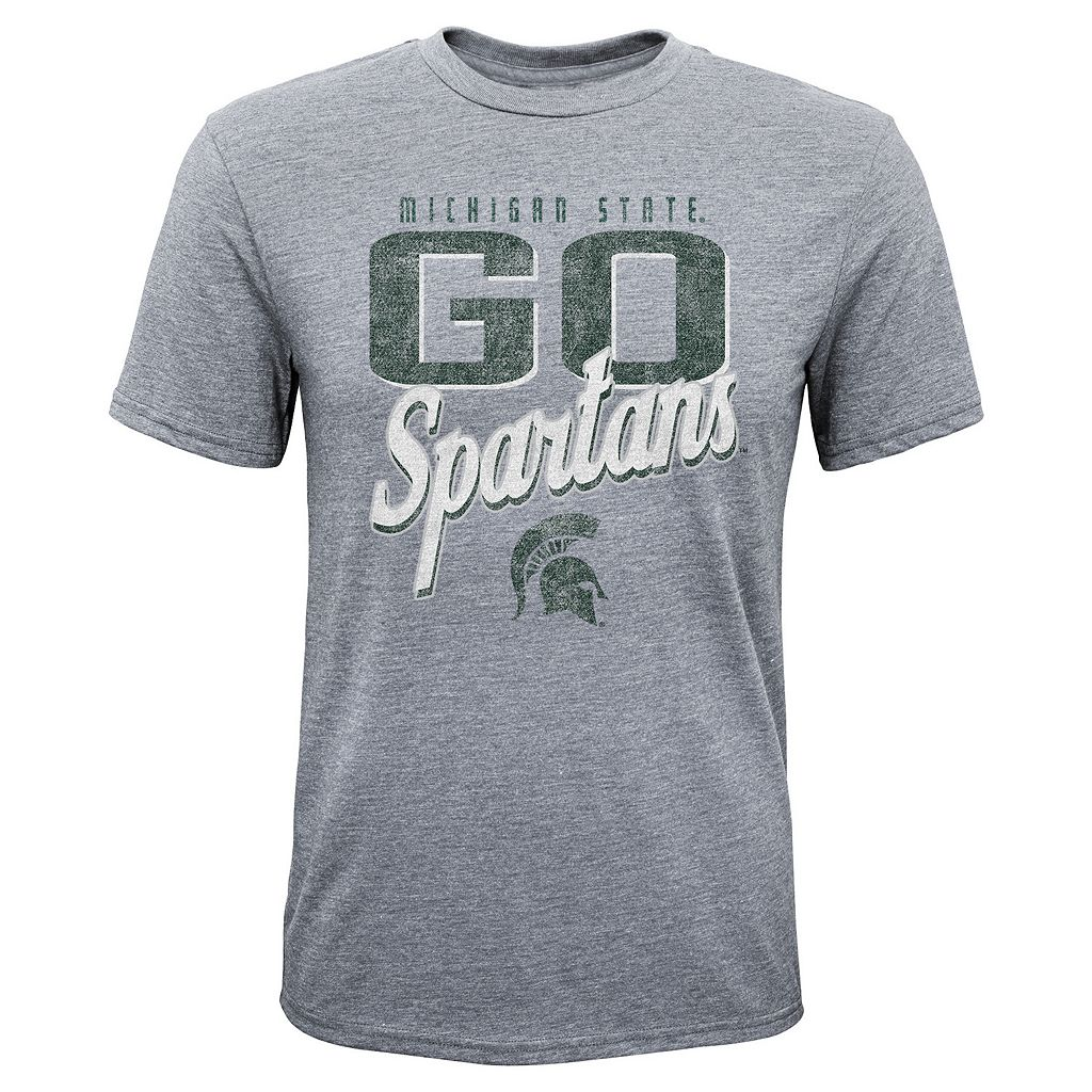 Boys 8-20 Michigan State Spartans Rally Anthem Tee