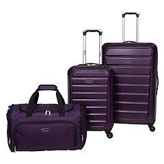 Prodigy Optics 3 pc Hardside Spinner Luggage Set