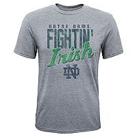 Boys 8-20 Notre Dame Fighting Irish Rally Anthem Tee