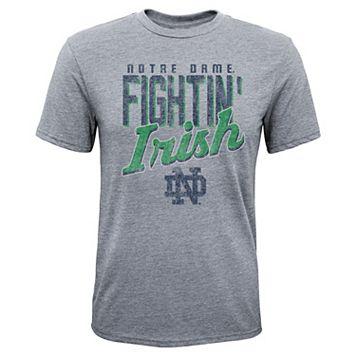 Boys 8-20 Notre Dame Fighting Irish Rally Anthem Tee