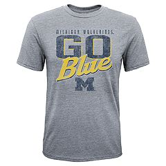 Boys 8-20 Michigan Wolverines Rally Anthem Tee