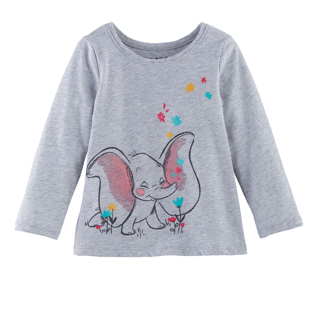 Disney's Dumbo Baby Girl Long-Sleeve Graphic Tee by Jumping Beans®