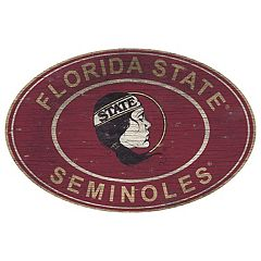Florida State Seminoles Heritage Oval Wall Sign
