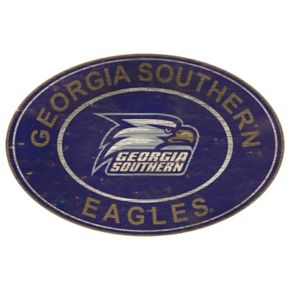 Georgia Southern Eagles Heritage Oval Wall Sign