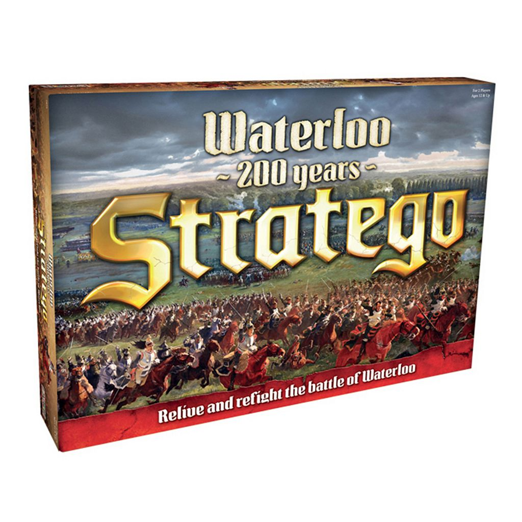 Stratego Waterloo Game by PlayMonster