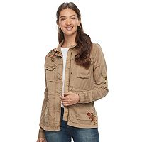 Women's SONOMA Goods for Life™ Embroidered Utility Jacket
