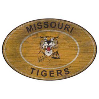 Missouri Tigers Heritage Oval Wall Sign